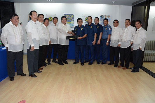 DONATION TO PNP REIREMENT AND BENEFITS ADMINISTRATION SERVICE