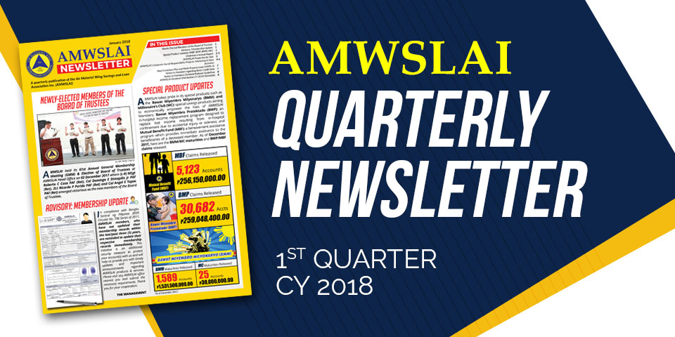 2018 First Quarter Newsletter